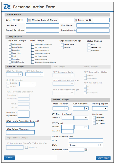 Electronic Forms for Easy Form Processing | Document Locator
