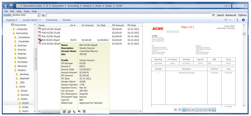 AP Invoice Processing - Invoice routing software